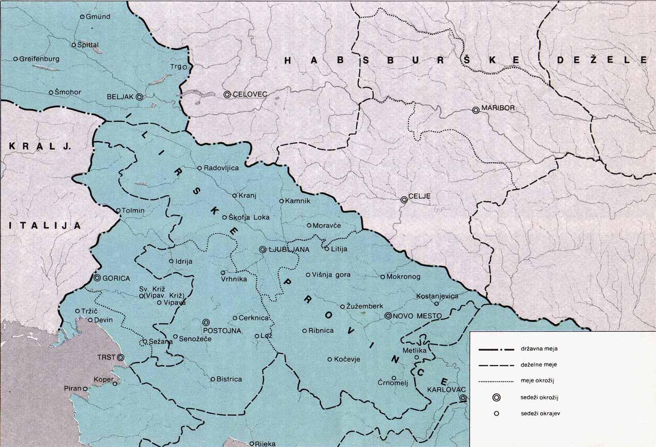 Zgodovina Slovencev Zacetki Slovenskega Narodnega Gibanja V